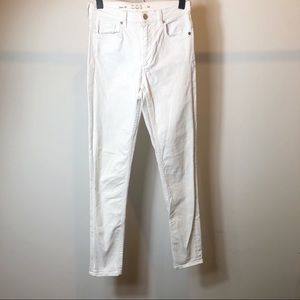 COS white Slim fit skinny jeans 26